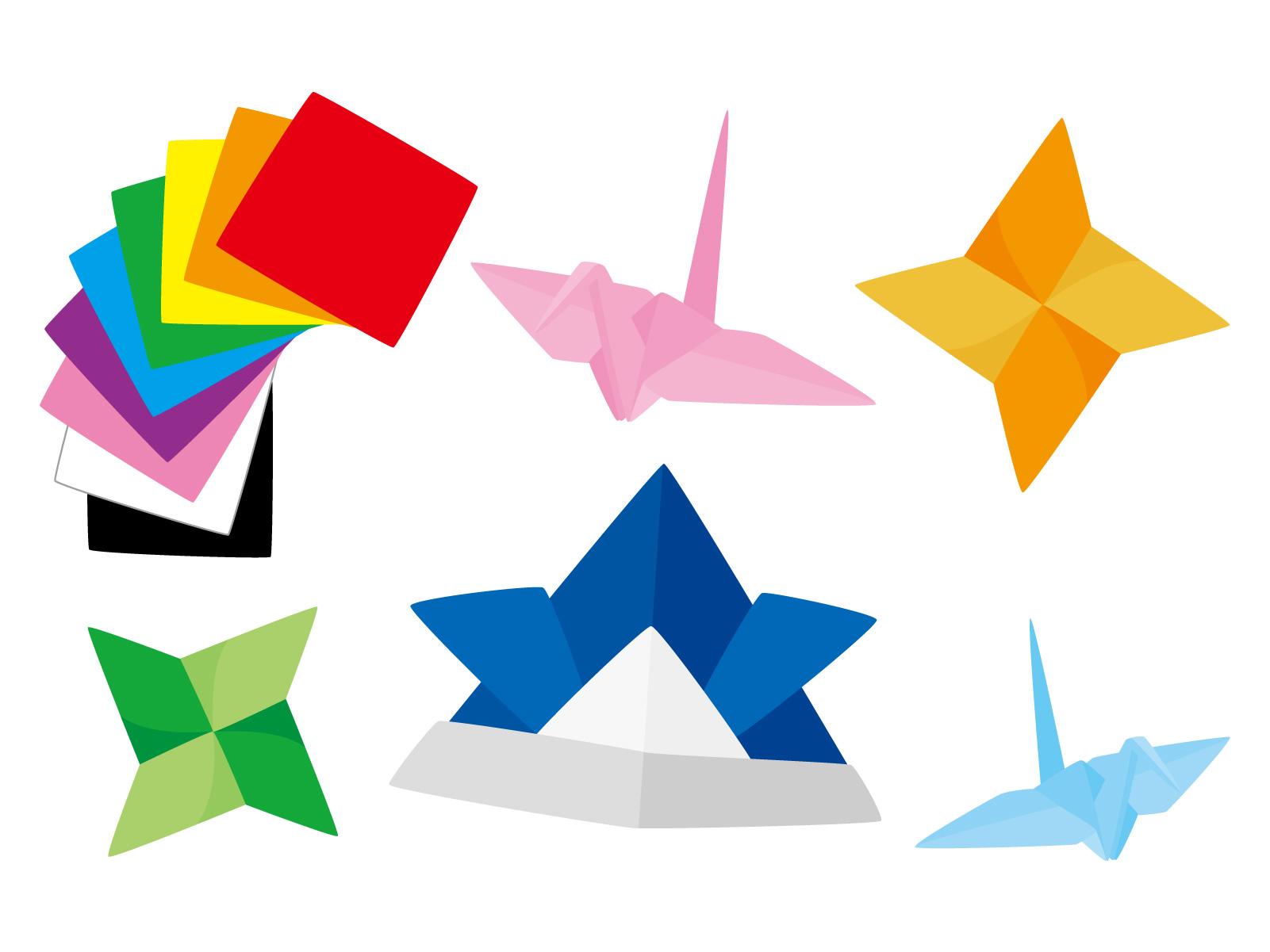 算数・数学の図形問題が得意な子にするには折り紙で遊ぶ